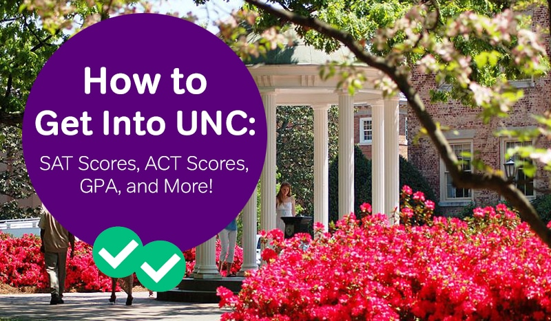 how to get into UNC sat scores unc act scores -magoosh