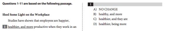 sat question - sat grammar rules - magoosh