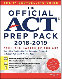 official act prep pack