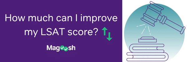 How much can I improve my LSAT score?-magoosh