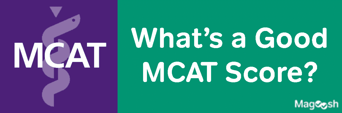 Good MCAT Score -magoosh