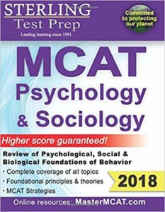Magoosh MCAT prep books - Sterling Test Prep - Mcat psychology and sociology