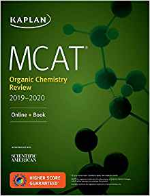 Magoosh MCAT prep books - Kaplan Organic Chemistry Review