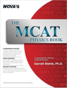 Magoosh MCAT prep books - MCAT Physics Book by Nova