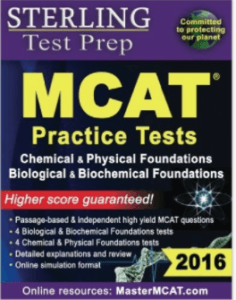 Magoosh MCAT prep books - MCAT practice tests