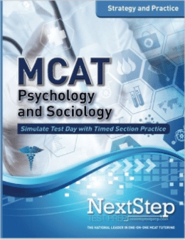Magoosh MCAT prep books - Next Step MCAT Psychology and Sociology