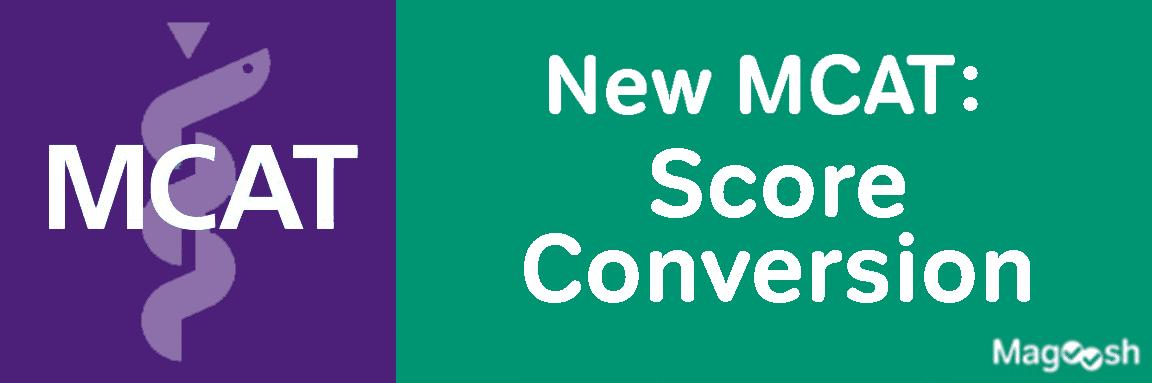 New MCAT Score Conversion -magoosh