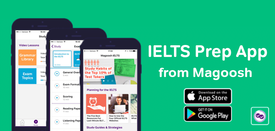 IELTS Prep App -magoosh
