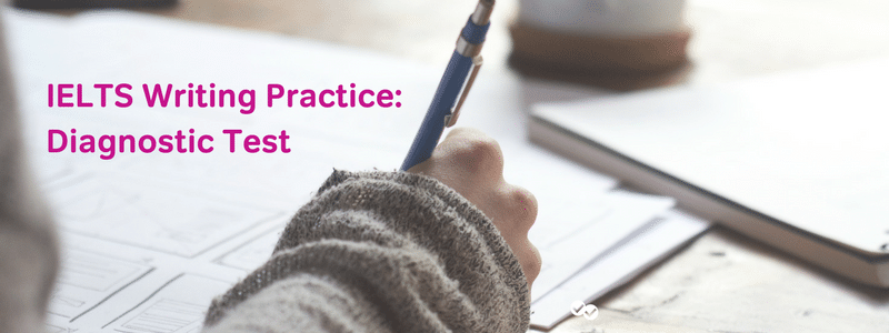 ielts writing practice test