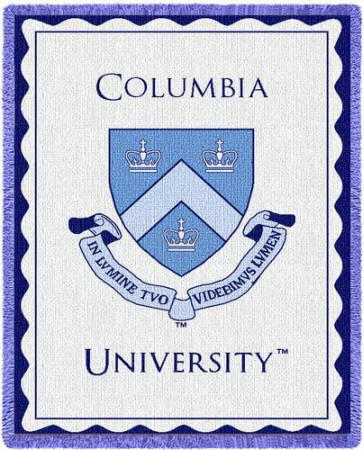 GRE Score by program - Columbia