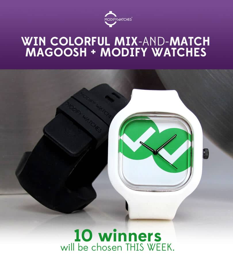Modify + Magoosh Entry page