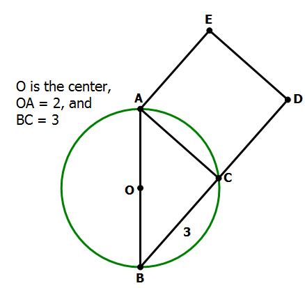 Gre Quantitative Comparison Geometry Practice Problems Magoosh Gre