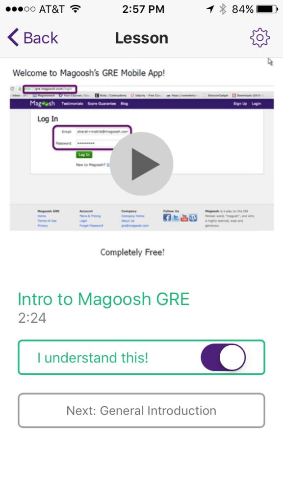 gre prep app