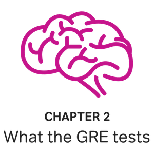 brain thinking what does the gre test