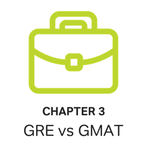 briefcase image featuring the gre vs gmat