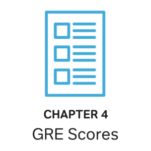 blue testing scorecard and gre test scores