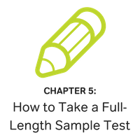 how to take a full-length gre sample test
