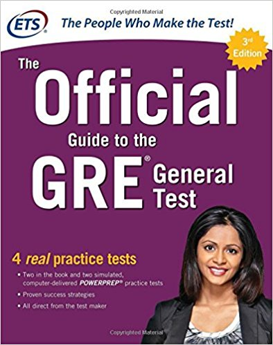 GRE book official guide - magoosh