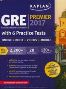 Kaplan GRE Premier-best GRE books-magoosh