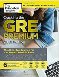 Princeton Review Cracking the GRE-best GRE books-magoosh