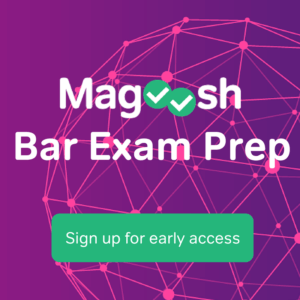 early access to Magoosh Uniform Bar Exam prep