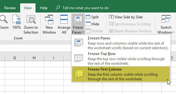 How to freeze rows panes and columns in excel magoosh excel blog how to freeze rows in excel freeze first column magoosh ccuart Gallery