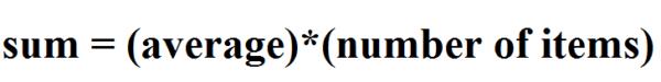 gmat formulas