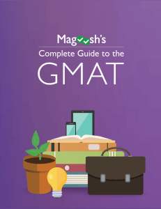 Magoosh's Complete Guide to the GMAT eBook