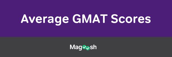 Average GMAT scores-magoosh
