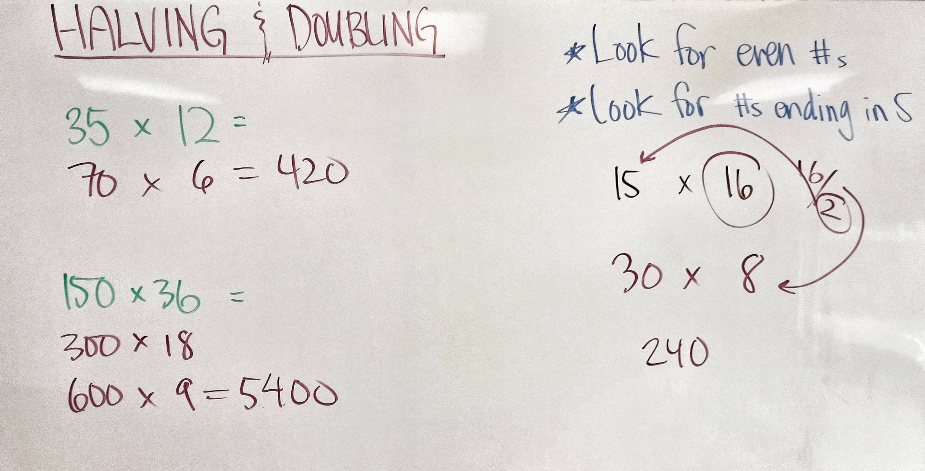 GMAT Math Strategy — Halving and Doubling