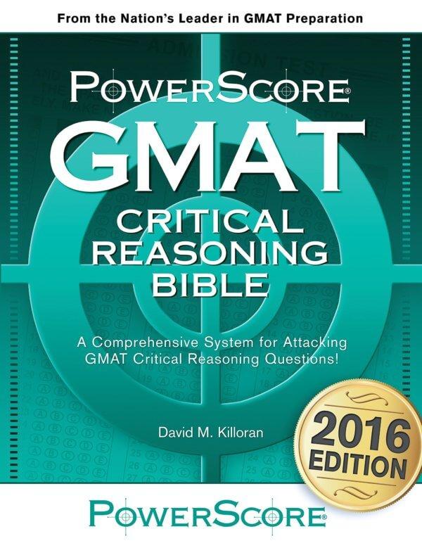 Gmat critical reasoning questions pdf