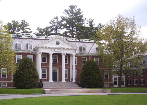 GMAT score for Dartmouth Tuck School of Business-magoosh