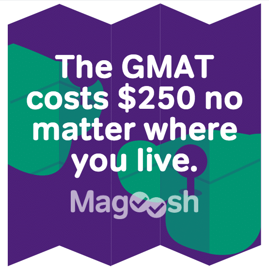 GMAT cost