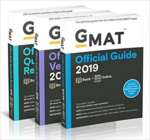 Gmat self study books