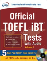 Official TOEFL iBT Tests Cover Image