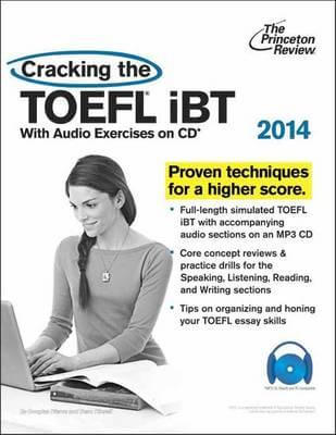 Cracking the TOEFL iBT Cover Image