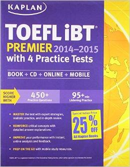 Kaplan TOEFL iBT Premier Cover Image