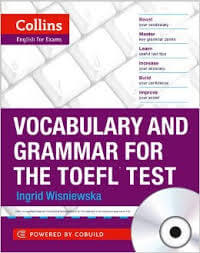 Vocabulary and Grammar for the TOEFL Test Cover
