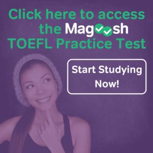 magoosh's toefl sample test