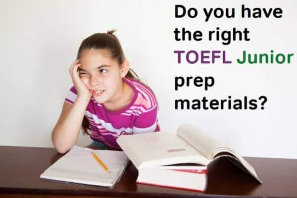 toefl junior prep materials