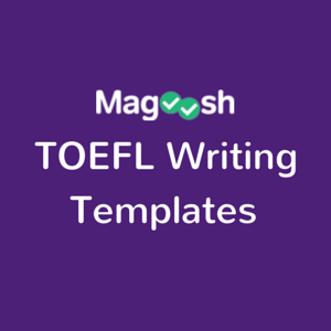 TOEFL Writing Templates