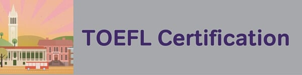 TOEFL Certification