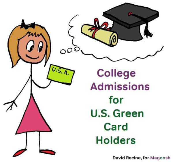 College Admissions for U.S. Green Card Holders