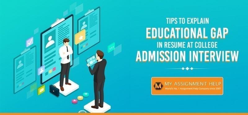 Explain Educational Gap in Resume