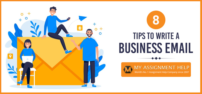 8 tips to write a business email
