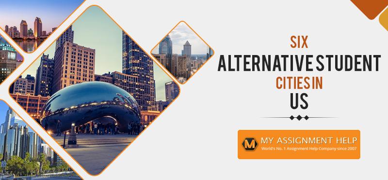 Six Alternative Student Cities in US