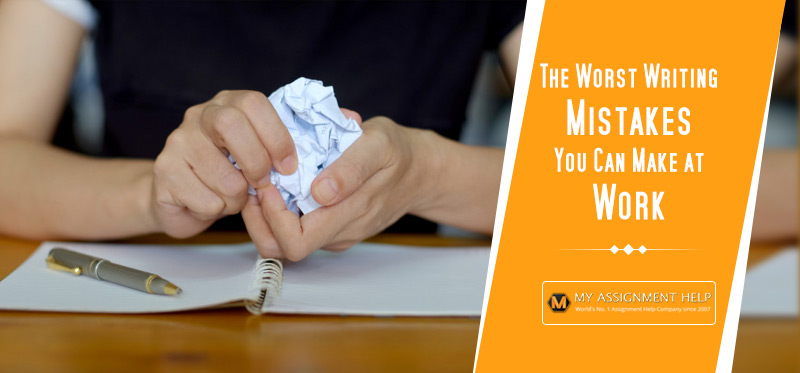 The Worst Writing Mistakes You Can Make at Work