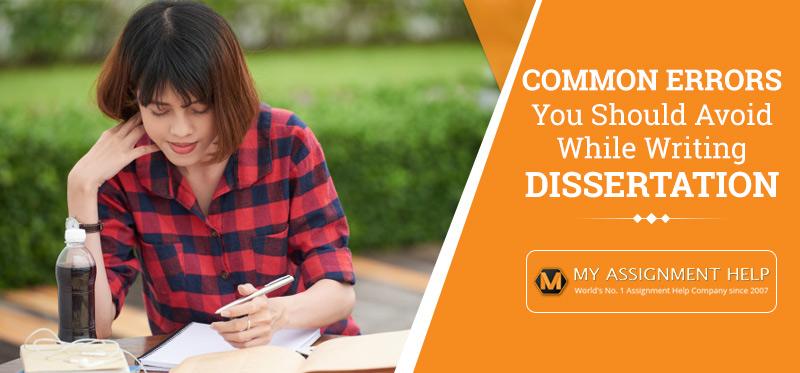 Common Dissertation Mistakes to Avoid