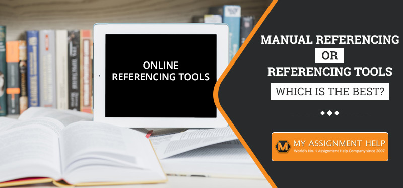 Manual Referencing Or Referencing Tools
