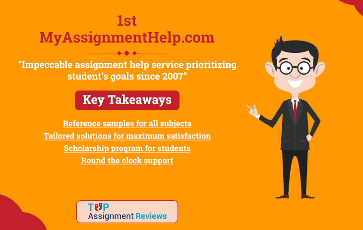 My Assignment Help is on no. 1 in best assignment help in australia | Student reviews and feedback on MyAssignmentHelp.com